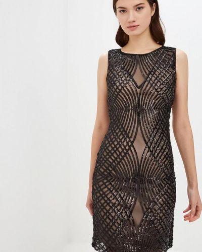 Вечернее платье осеннее черное Jan Steen