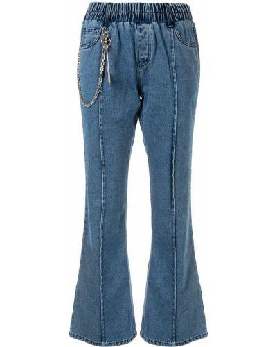 Расклешенные расклешенные джинсы с поясом Pony Stone
