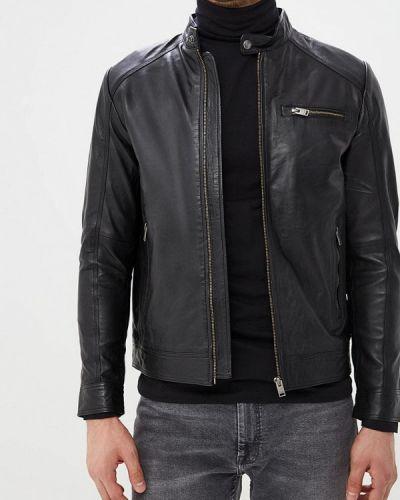 Кожаная куртка Selected Homme