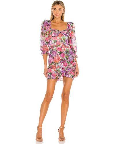 Платье мини - розовое Patbo