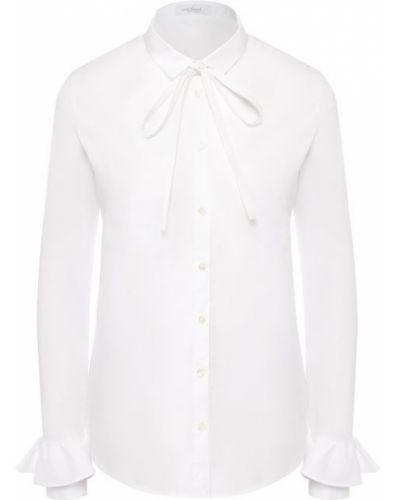 Хлопковая блузка - белая Van Laack