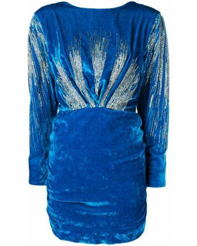 Платье с открытой спиной с декольте Attico