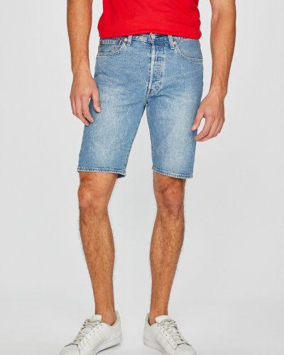 Джинсовые шорты с нашивками на пуговицах Levi's®