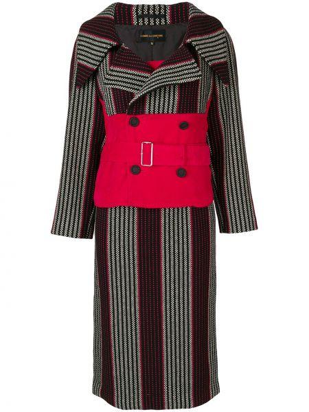 Платье миди двубортное винтажная Comme Des Garçons Pre-owned