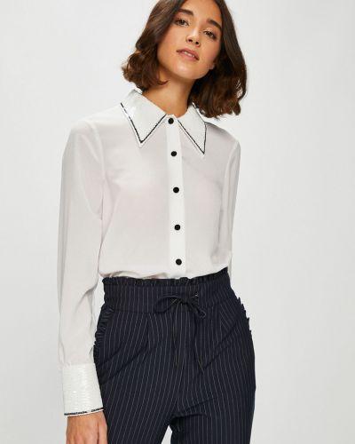 Блузка с длинным рукавом на пуговицах с узором Silvian Heach