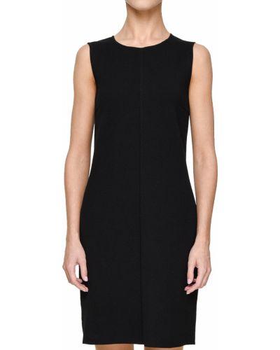 Платье из вискозы - черное Maerz