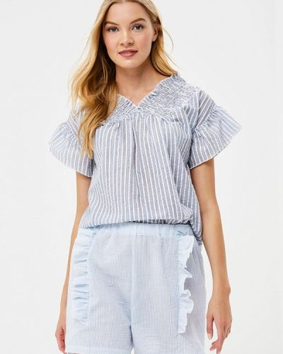 Блузка с коротким рукавом серая Care Of You