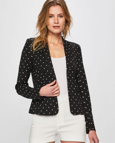 Классический пиджак прямой черный Only