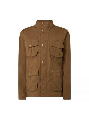 Beżowa kurtka bawełniana Barbour