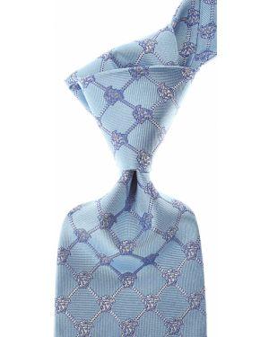 Krawat włoski jedwab Gianni Versace