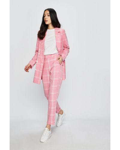 Классический пиджак прямой розовый Vero Moda