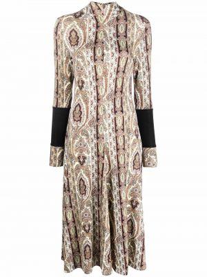 Платье миди с принтом Paul Smith
