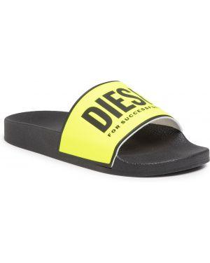 Sandały czarny żółty Diesel