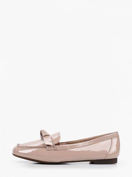 Кожаные лаковые розовые кожаные туфли Dino Ricci