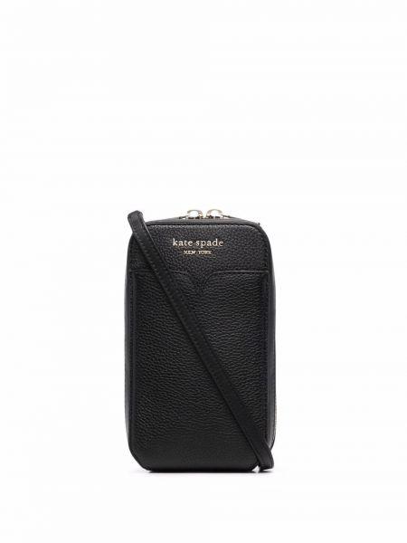 С ремешком кожаный кошелек золотой Kate Spade