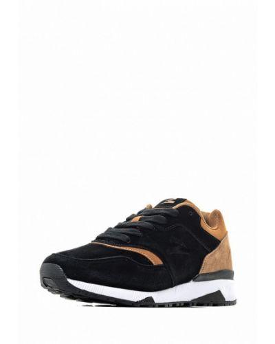 Черные кроссовки замшевые Sigma