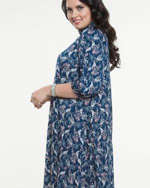 Летнее платье с поясом платье-сарафан прима линия