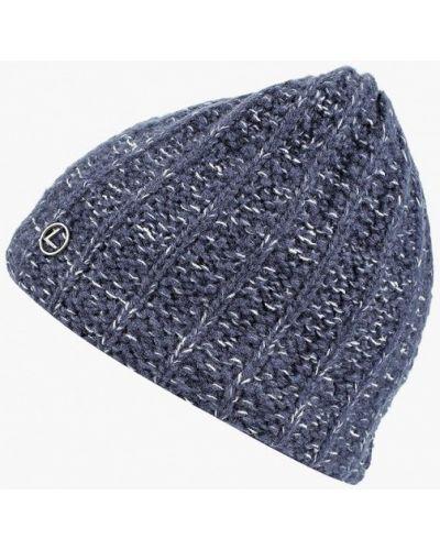 Синяя шапка осенняя Luhta
