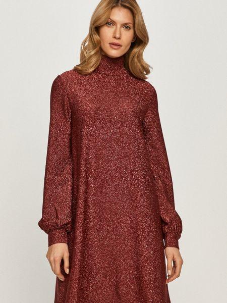 Расклешенное платье с длинными рукавами из вискозы Max&co