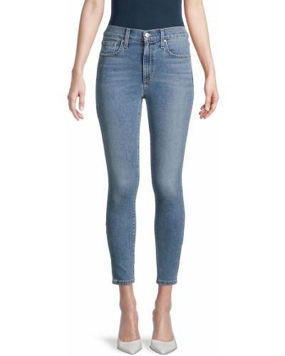 Синие укороченные джинсы Joe's Jeans