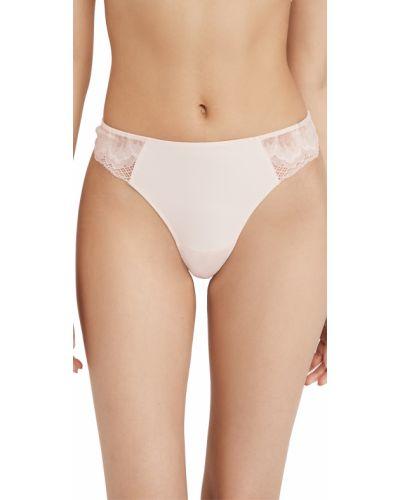 Нейлоновые кружевные стринги на шнуровке Calvin Klein Underwear