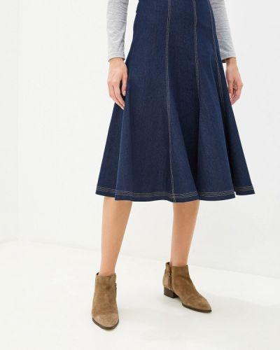 Джинсовая юбка синяя Fashion.love.story