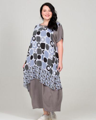 Платье в стиле бохо кокон Intikoma