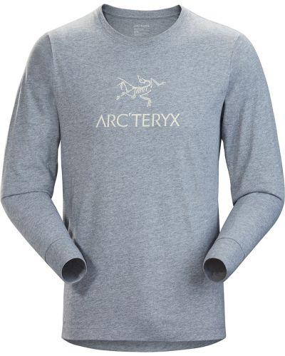 Szary t-shirt Arcteryx