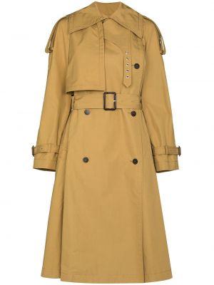 Бежевое пальто классическое Loewe