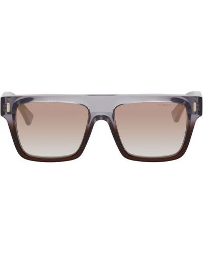 Czarne okulary srebrne Cutler And Gross