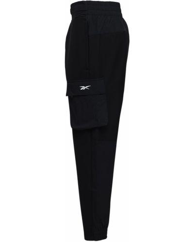 Зауженные брюки карго эластичные Reebok Classics