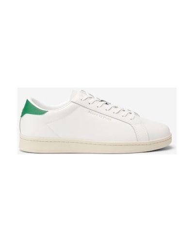 Białe sneakersy skorzane Marc O Polo
