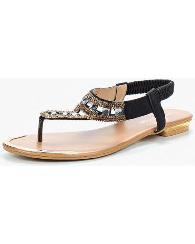 Черные сандалии Amazonga