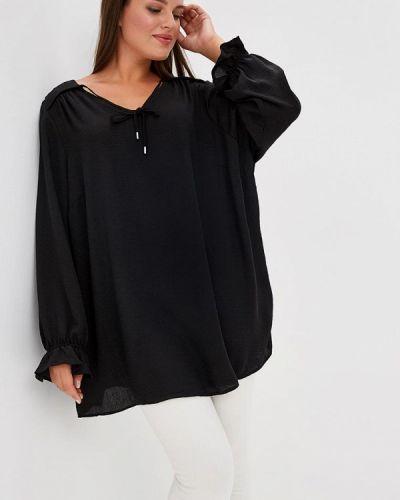 Черная блузка осенняя Evans