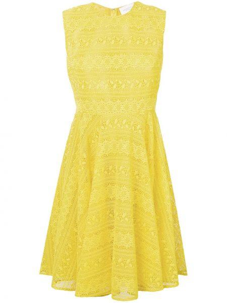 Платье на молнии шелковое Giambattista Valli