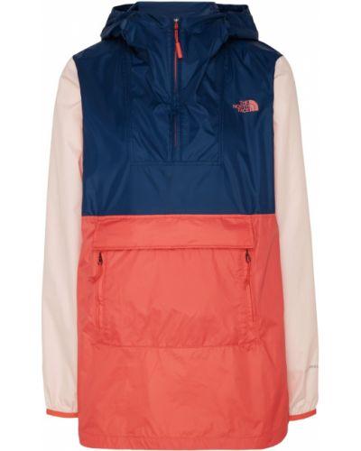 Куртка с капюшоном нейлоновая с воротником стойкой The North Face