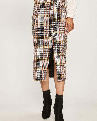 Spódnica maxi z wzorem elastyczna Glamorous
