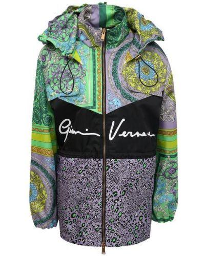 Разноцветная ветровка Versace