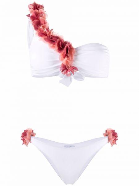 Пляжный плавки - белый La Reveche