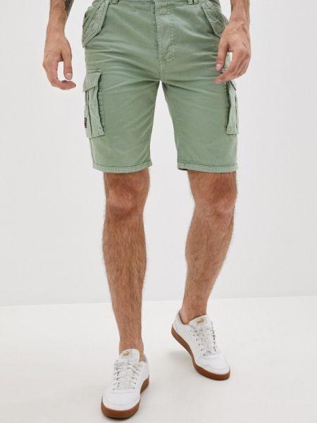 Зеленые повседневные шорты Mz72
