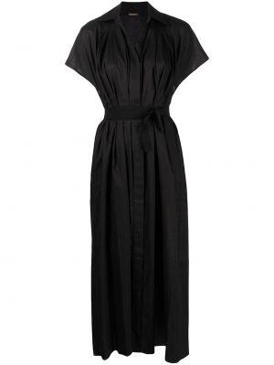 Платье мини короткое - черное Adam Lippes