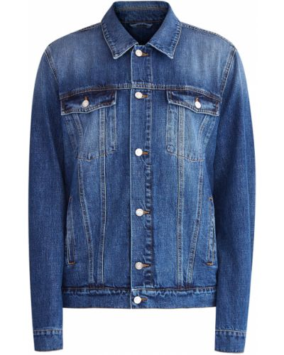 Джинсовая куртка на пуговицах винтажная Kenzo