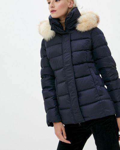 Теплая синяя куртка Hetrego