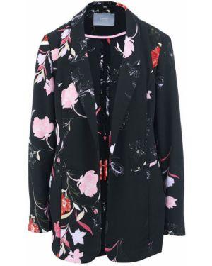 Пиджак черный без застежек B.young