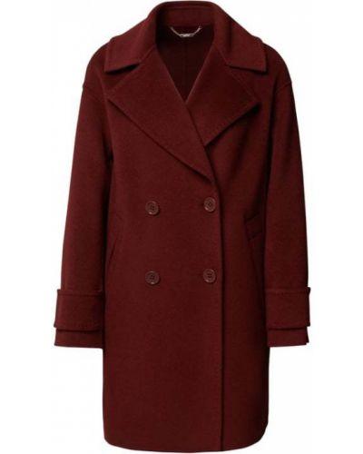 Brązowy płaszcz wełniany Marc Cain