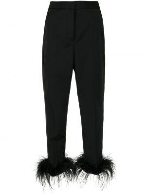 Укороченные брюки - черные Rebecca Vallance