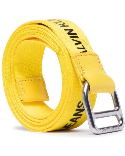 Żółty pasek z paskiem Calvin Klein Jeans