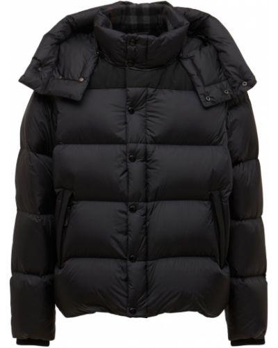 Куртка с капюшоном - черная Burberry