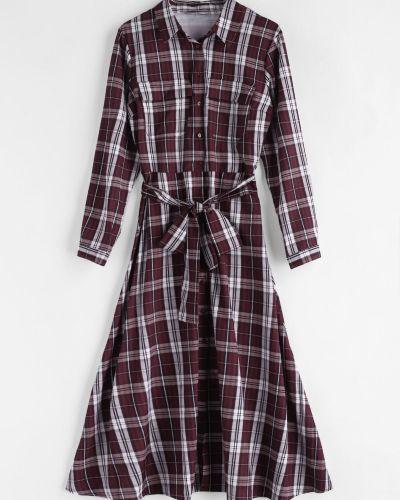 Платье с поясом платье-майка платье-рубашка Zaful