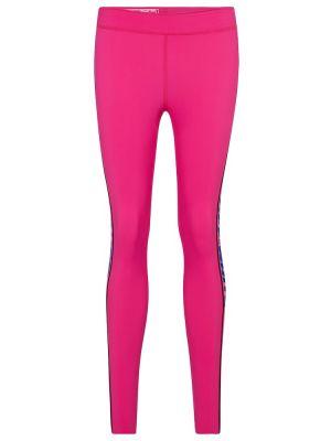 Światło różowy legginsy Off-white